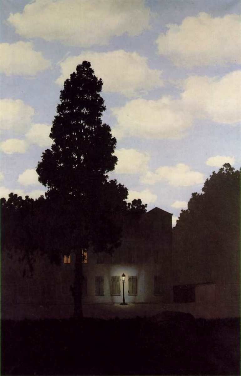 Empire of Light by Renee Magritte