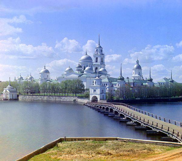 Nilova Monastery in 1910