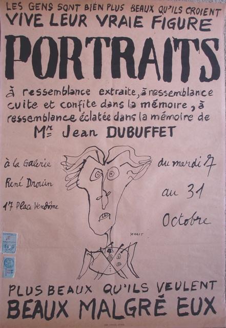 JeanDubuffetgensposter1