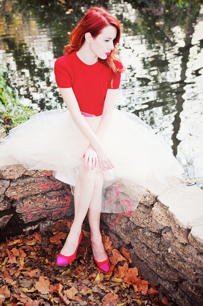 Tulle Fairy Tale by Sea of Shoes, skirt from Anthropologie